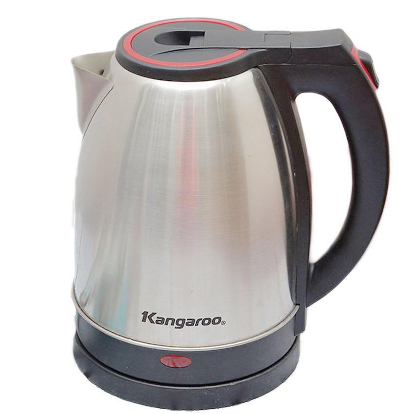 Bình đun siêu tốc Kangaroo KG338-1.8L (Inox xước giữ nhiệt) - 3557559 , 1246025302 , 322_1246025302 , 290000 , Binh-dun-sieu-toc-Kangaroo-KG338-1.8L-Inox-xuoc-giu-nhiet-322_1246025302 , shopee.vn , Bình đun siêu tốc Kangaroo KG338-1.8L (Inox xước giữ nhiệt)