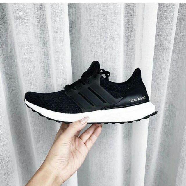 ⚡[ SALE ] Giày thể thao ultraboost 4.0 đen trắng
