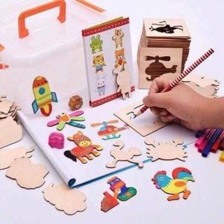 Bộ tập vẽ cho bé