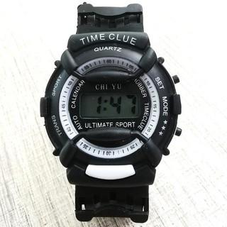 DH Đồng hồ điện tử trẻ em giới tính TIME CLUE dây cao su cực đẹp 8 YC20