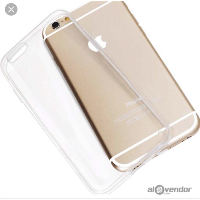 Ốp lưng iPhone 6/6S/ 6 Plus/ 6S Plus silicon dẻo trong suốt ( Loại tốt )
