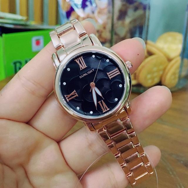 Đồng hồ nữ sunlight - 2619798 , 1334344807 , 322_1334344807 , 950000 , Dong-ho-nu-sunlight-322_1334344807 , shopee.vn , Đồng hồ nữ sunlight