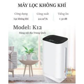 Máy lọc không khí UV-C diệt khuẩn, lọc được bụi mịn PM2.5, loại bỏ formaldehyde – K12 hàng nội địa Trung Quốc