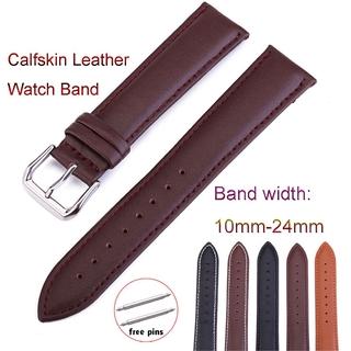 Dây đeo đồng hồ da thật 12mm 14mm 16mm 18mm 19mm 20mm 22mm 24mm Dây đeo bằng da bò