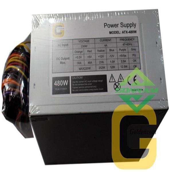 [Hàng mới 100%]CHÍNH HÃNGNguồn mini Golden Com 480W -Standard 24pin Giá chỉ 479.700₫