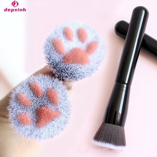 【Ready Stock】 Cat Claw Paw Makeup Brushes Cute Foundation Brush Long Lasting Concealer Blush Tool 【Depxinh】