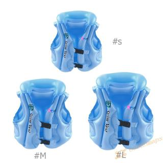 ❤OC❤ Safety Float Inflatable Swim Vest Life Jacket Swimming Aid Vest