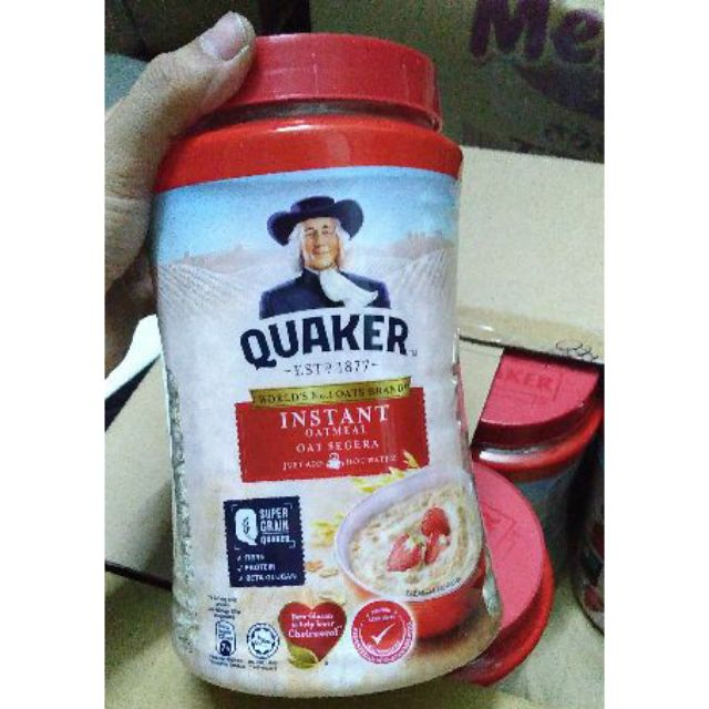 Yến mạch ăn liền Quaker hộp 600g date 08/2020 - 22005885 , 7011630332 , 322_7011630332 , 55000 , Yen-mach-an-lien-Quaker-hop-600g-date-08-2020-322_7011630332 , shopee.vn , Yến mạch ăn liền Quaker hộp 600g date 08/2020