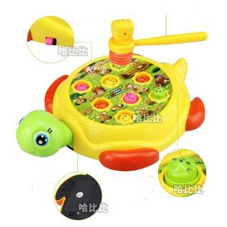 Bộ đồ chơi đập chuột hình chú rùa loại to cho bé siêu tiện dụng