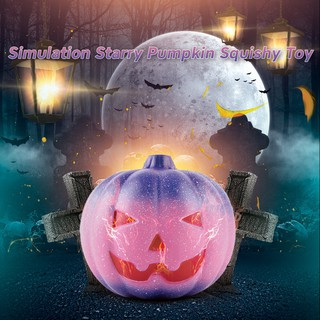 Creative Starry Pumpkin Slow Rebound Decompression Hand Squishy Toy