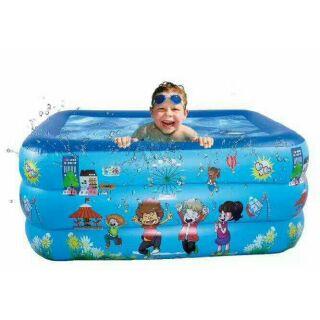 Bể bơi Summer 3 tầng 1m3 cho bé ju