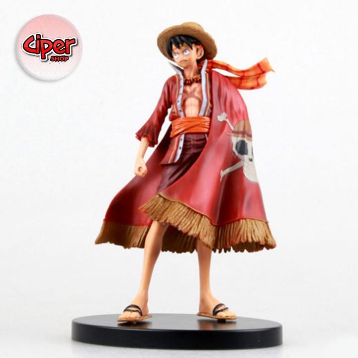 Mô hình Luffy mũ rơm Kỷ niệm 15th năm - One Piece