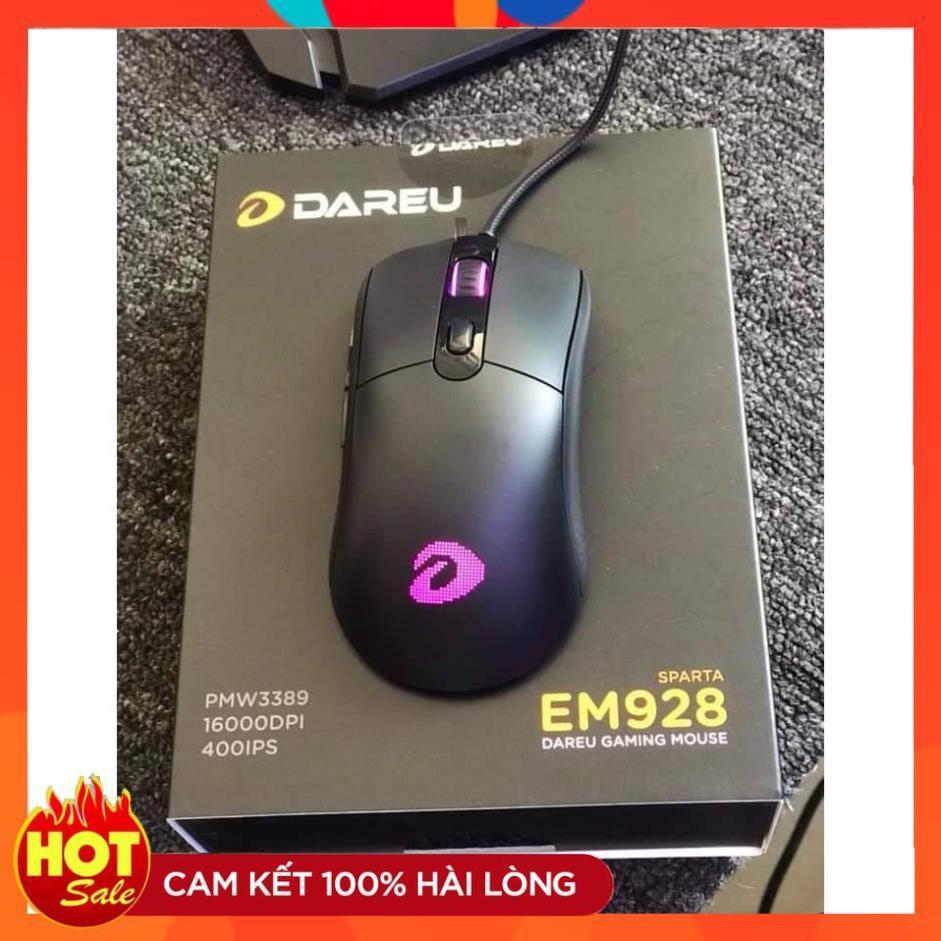 [Chính Hãng] Chuột Gaming Dareu EM928 Led RGB - Hàng Chính Hãng bảo hành 24 tháng