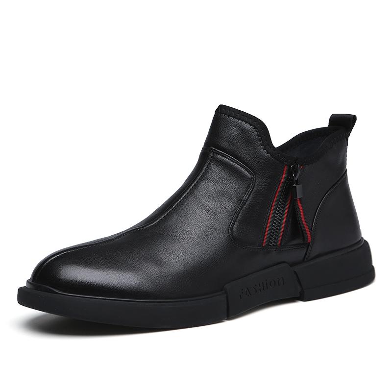 Giày bốt Martin 🌻 giày nam cao cấp phong cách Anh Bốt mới của Chelsea