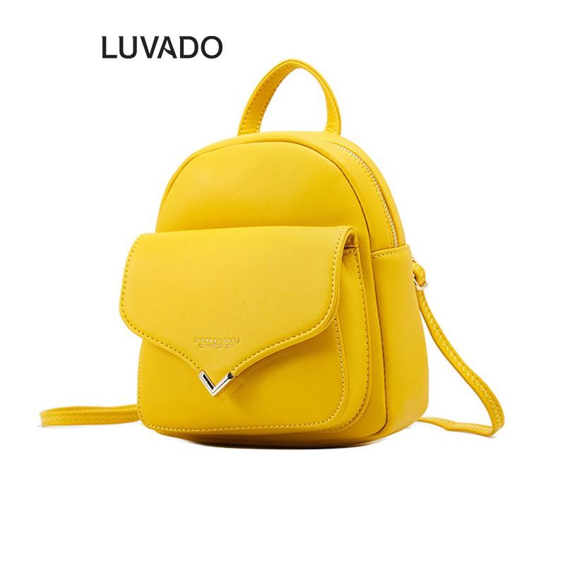Balo nữ du lịch đi học PIERRE LOUES thời trang cute đẹp LUVADO BL75