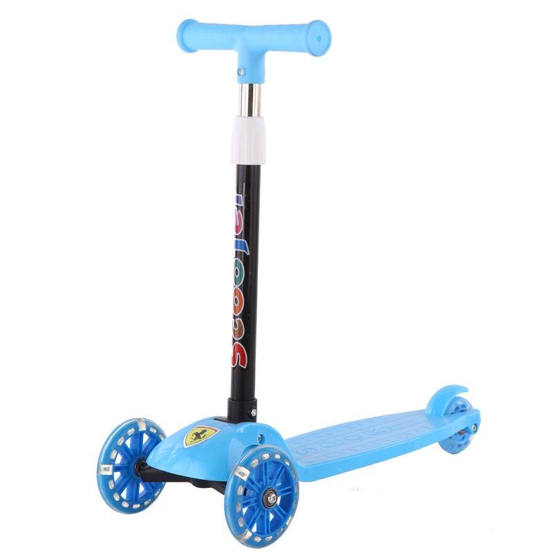 Xe scooter cho bé 3 bánh gấp gọn mb439