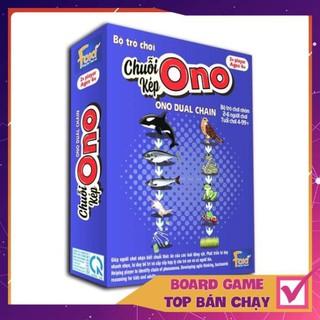 [KHÔNG HAY TRẢ TIỀN] Board game-Chuỗi Ono KÉP Foxi-thẻ glenndoman thông minh-chuỗi thức ăn của động vật biển