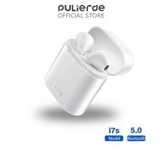 Tai nghe nhét tai Pulierde i7s kết nối Bluetooth không dây V5.0 TWS chất lượng cao