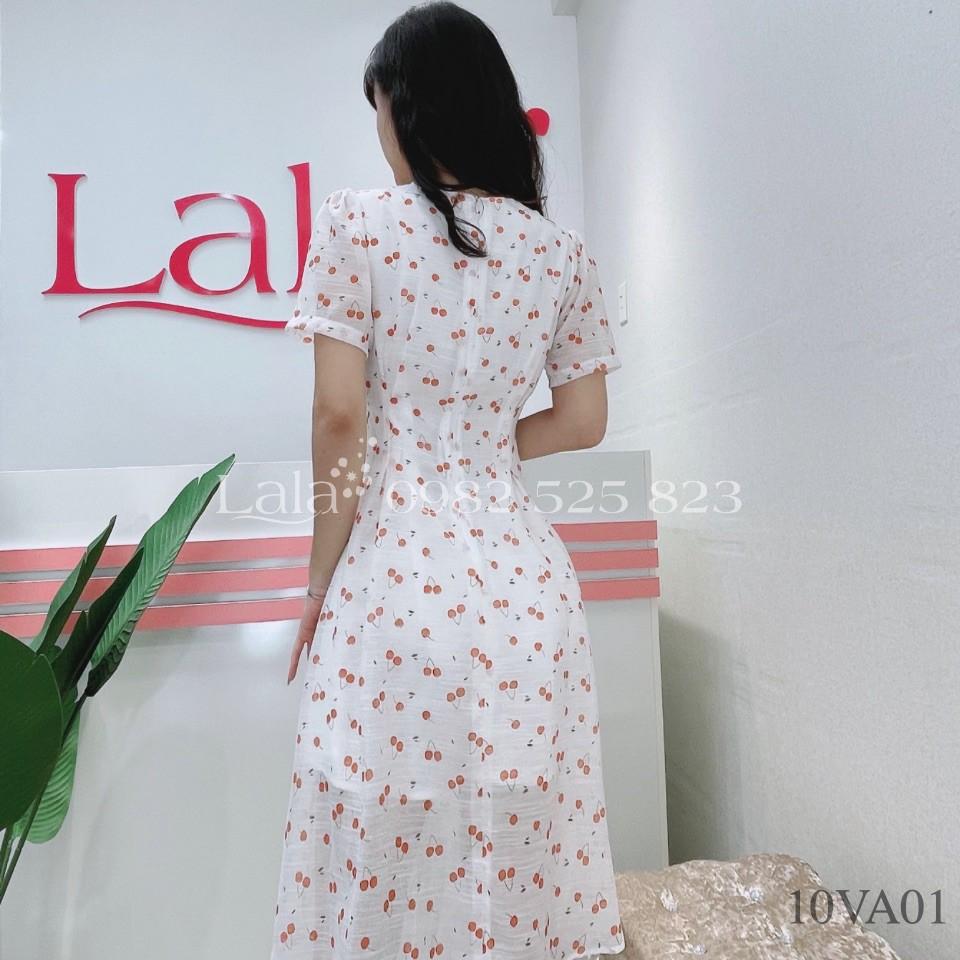 Mặc gì đẹp: Tung bay với Váy xòe voan tơ, họa tiết hoa hồng và cherry xinh xắn 10VA01_02