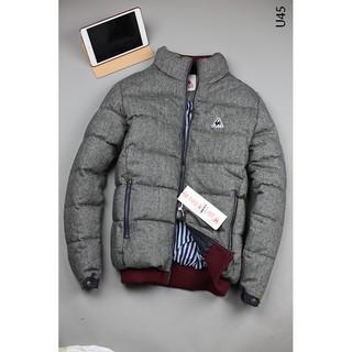 [SALE SỐC] Áo khoác nam bo gấu cổ cao không mũ Xuất Hàn Xịn đẹp,áo khoác có túi trong nam,áo khoác chần bông nam,mềm