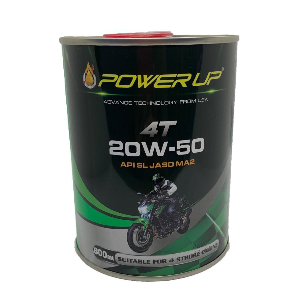 NHỚT POWER UP 4T 20W50 DÀNH CHO XE SỐ 800ML