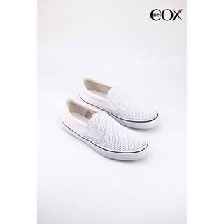 [Mã MABRMALL10 hoàn 10% đơn 150K tối đa 30K xu] Giày Lười Vải Cox Shoes White 1001 thumbnail