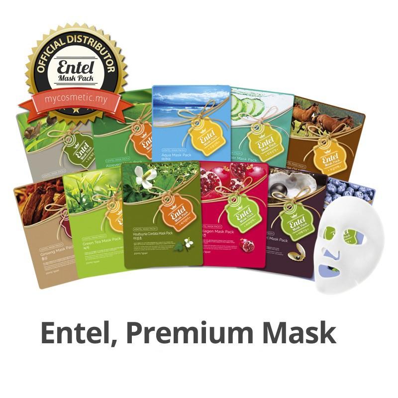 Combo 50 mặt nạ Entel Premium