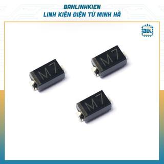 [Đi ốt chỉnh lưu] Diode M7 1N4007 SMD 1A 1000V (10c)