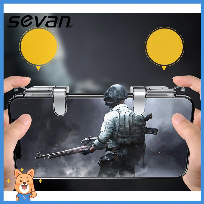 【Sevan】 Anti-scratch PUBG Game Controllers Assist Tools Shot Button Scope Button