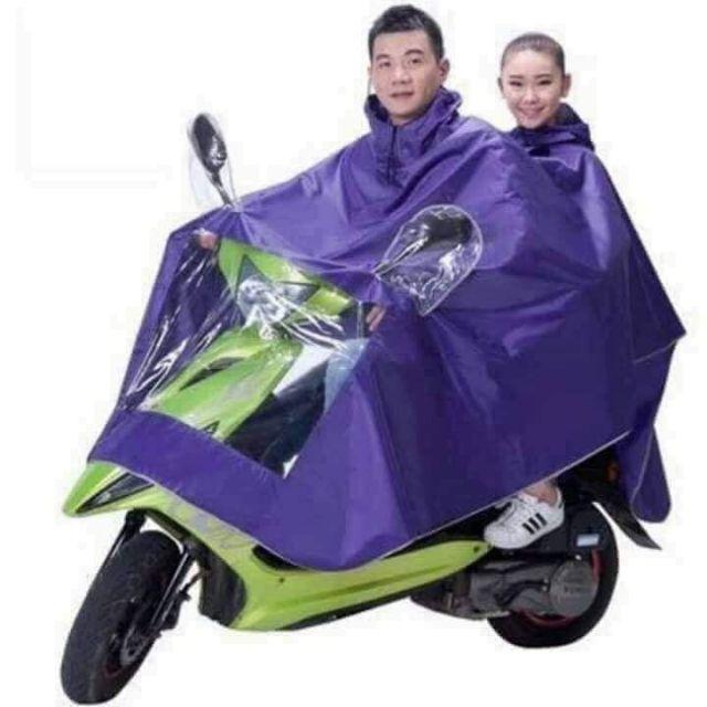 áo mưa phản quang hai đầu