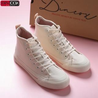 Giày DINCOX Sneaker Nữ D09 White Năng Động Cá Tính