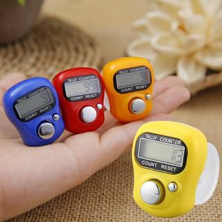 Máy đếm số điện tử đeo ngón tay có màn hình LCD thumbnail