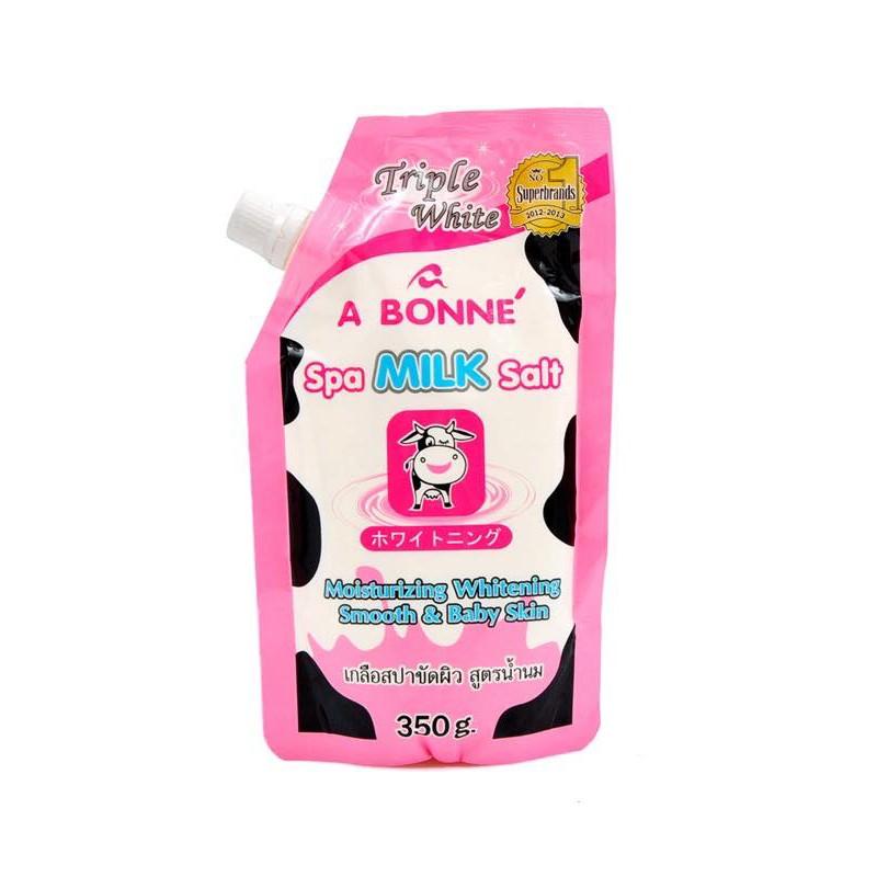 Muối tắm trắng Thái Lan vị sữa bò A BONNE' SPA MILK SALT