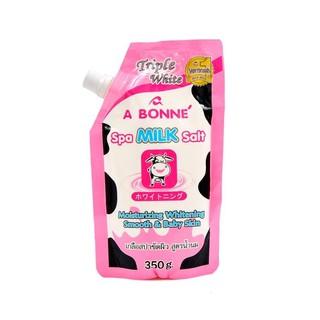 Muối tắm trắng Thái Lan vị sữa bò A BONNE SPA MILK SALT thumbnail