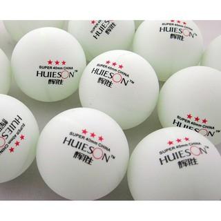 ( THANH LÝ SỐC H 117 )Set 10 quả bóng bàn PingPong dùng trong tập luyện và thi đấu (màu Trắng ) thumbnail