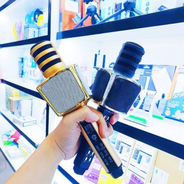 [ Bảo Hành 6 Tháng ] Micro Karaoke Kiêm Loa Bluetooth SDRD Magic Karaoke SD17 - HÀNG NHẬP KHẨU - SÀI THỬ TRONG 14 NGÀY