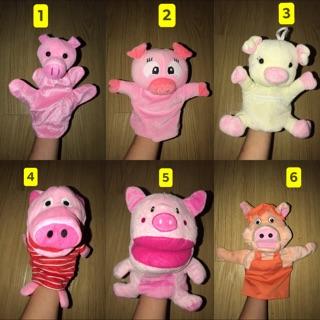 Rối tay hình con lợn (đồ si tuyển)