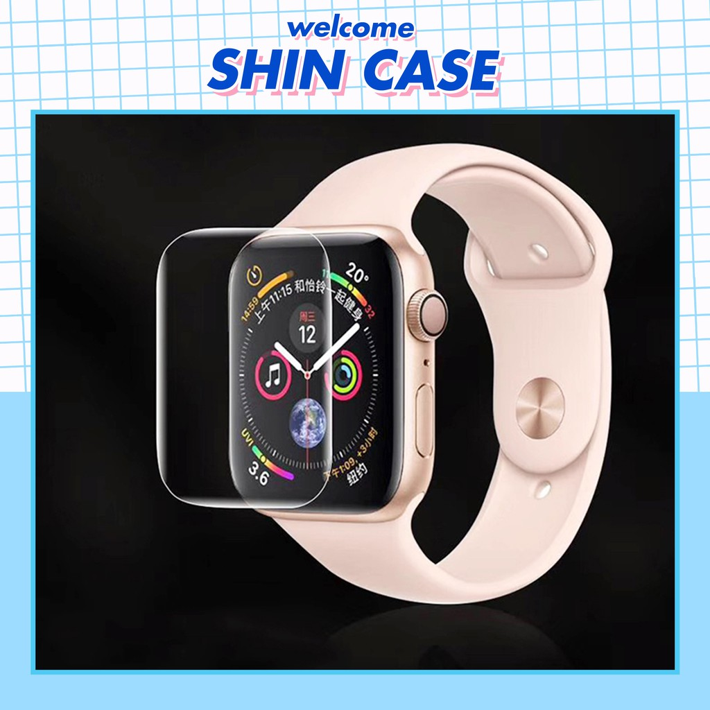 Miếng dán PPF màn hình dành cho Apple Watch - Shin Case