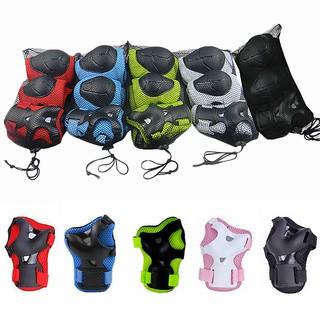 Bộ 6 miếng đệm bảo vệ đầu gối và khủy tay cho trẻ em
