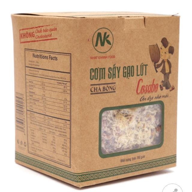 Cơm Sấy Gạo Lứt Chà Bông Cosabo Hộp 150G