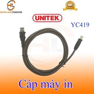 Cáp máy in 1.8m 2.0 Unitek YC419 hãng phân phối