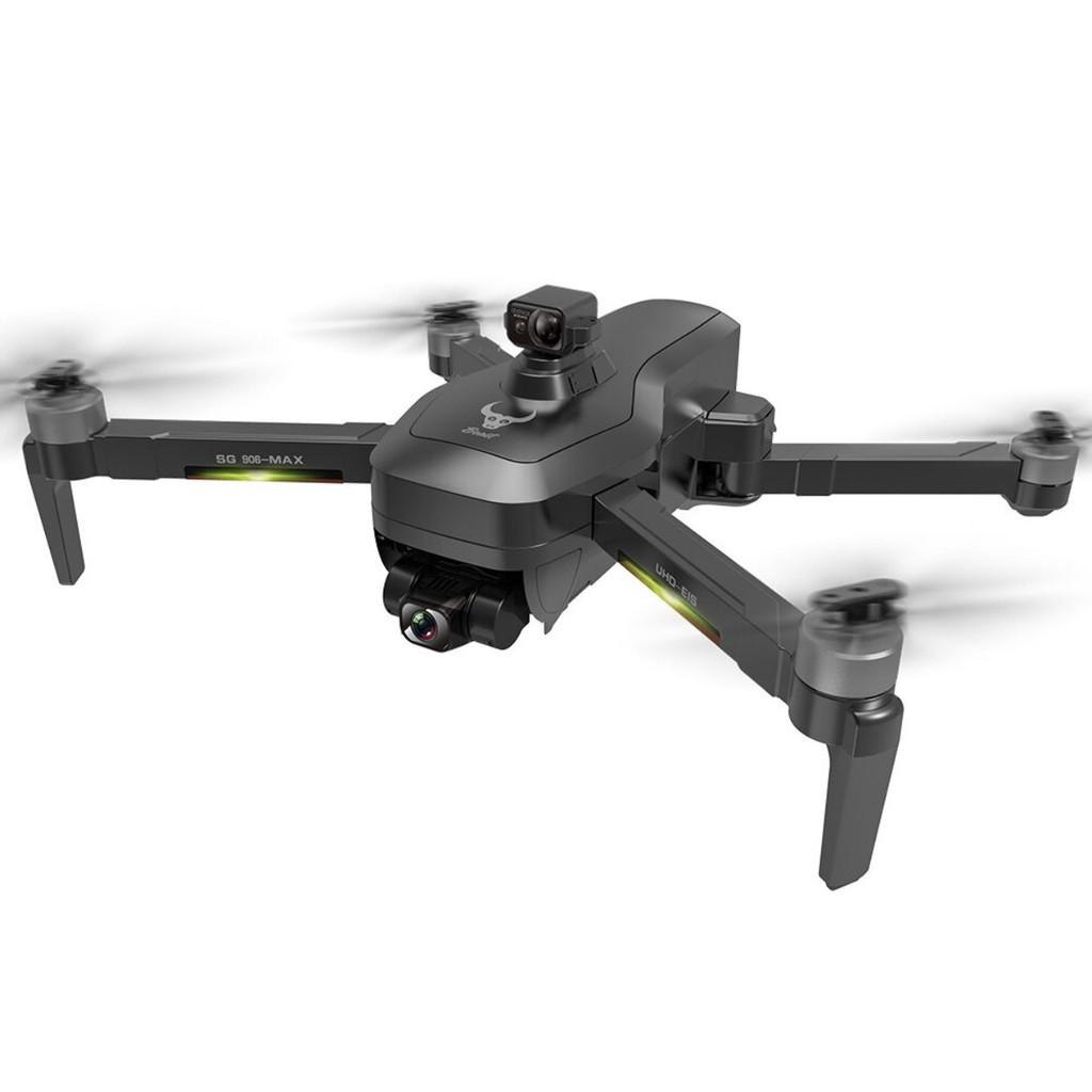 Flycam SG906 Max, Camera 4K (UHD + EVO) chống rung 3 trục ILS, Có cảm biến  tránh vật cản bằng lazer hiện đại giá cạnh tranh