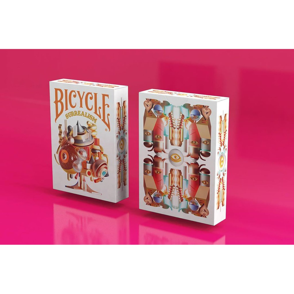 Bài ảo thuật USA Bicycle SURREALISM limited 2.500 bộ – Bài Tây – bài Mỹ CAO CẤP CHÍNH HÃNG ( Mystery Shop)