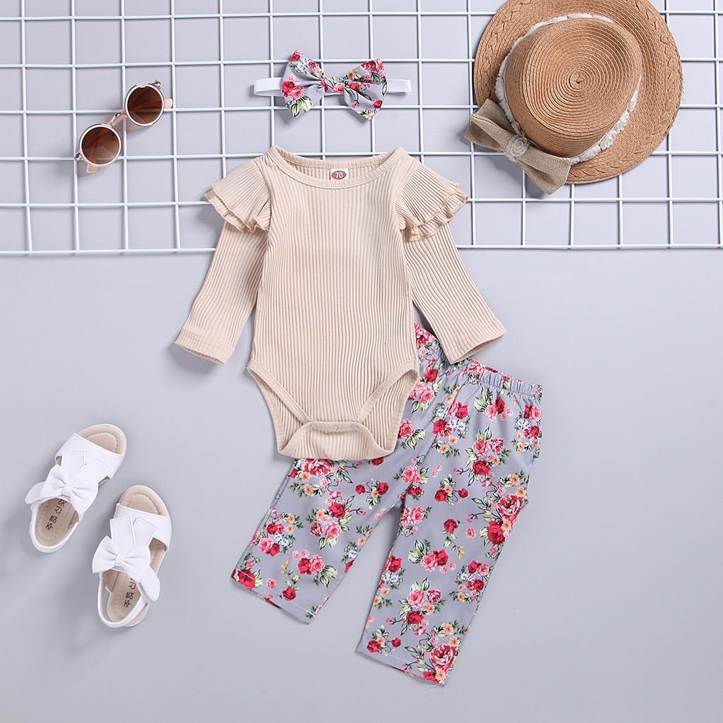 Set quần yếm + quần dài + băng đô nơ dễ thương cho bé gái sơ sinh - 14939363 , 2713928587 , 322_2713928587 , 184000 , Set-quan-yem-quan-dai-bang-do-no-de-thuong-cho-be-gai-so-sinh-322_2713928587 , shopee.vn , Set quần yếm + quần dài + băng đô nơ dễ thương cho bé gái sơ sinh