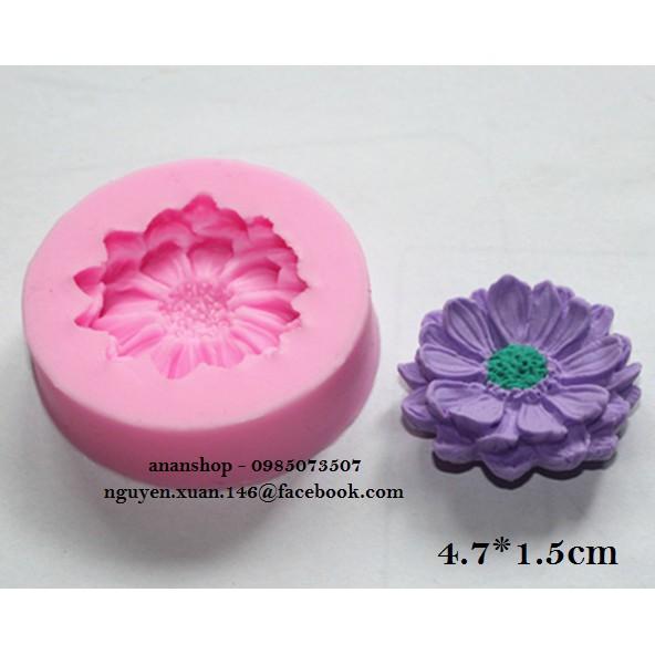 Khuôn silicon 4D hoa cúc nhỏ 4.7cm - 2960474 , 385322195 , 322_385322195 , 20000 , Khuon-silicon-4D-hoa-cuc-nho-4.7cm-322_385322195 , shopee.vn , Khuôn silicon 4D hoa cúc nhỏ 4.7cm