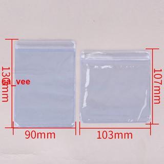 Túi Zip Nhựa Trong Suốt Dày Đựng Trang Sức Tiện Dụng