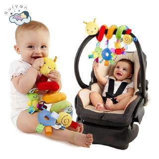 【RYT】Baby Kids Stroller Bed Around Spiral Hanging Bell Rattle Activity Soft Toys