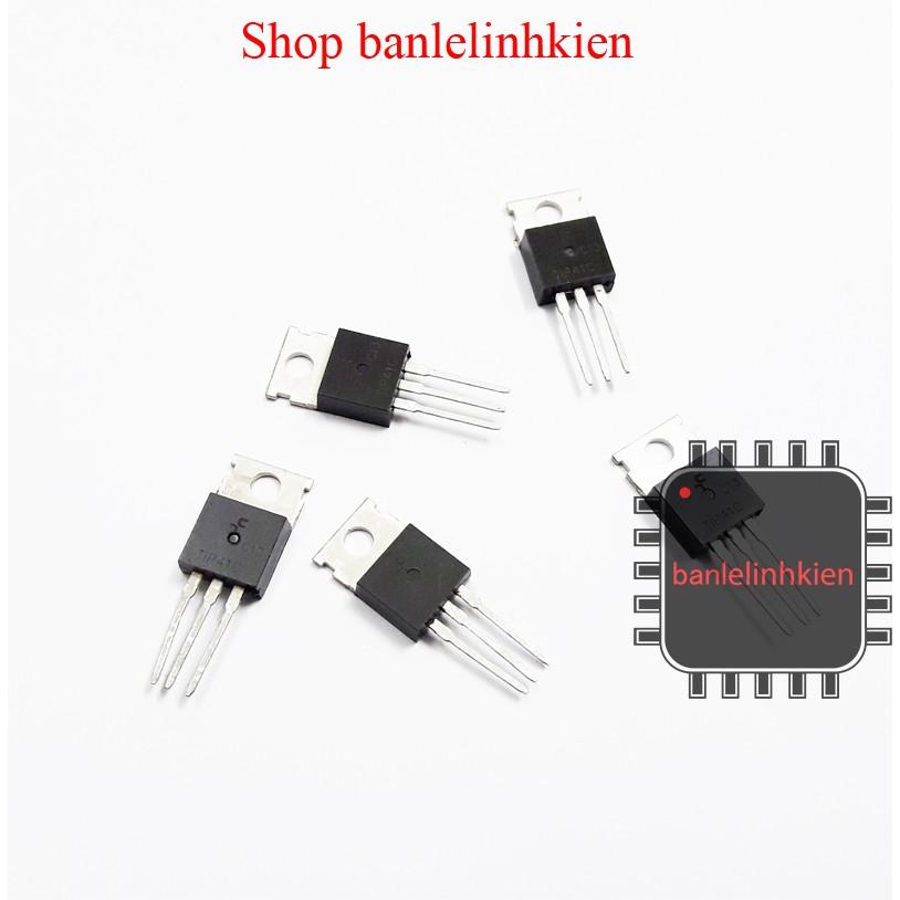 Linh kiện bán dẫn Transistor TIP41C chân cắm