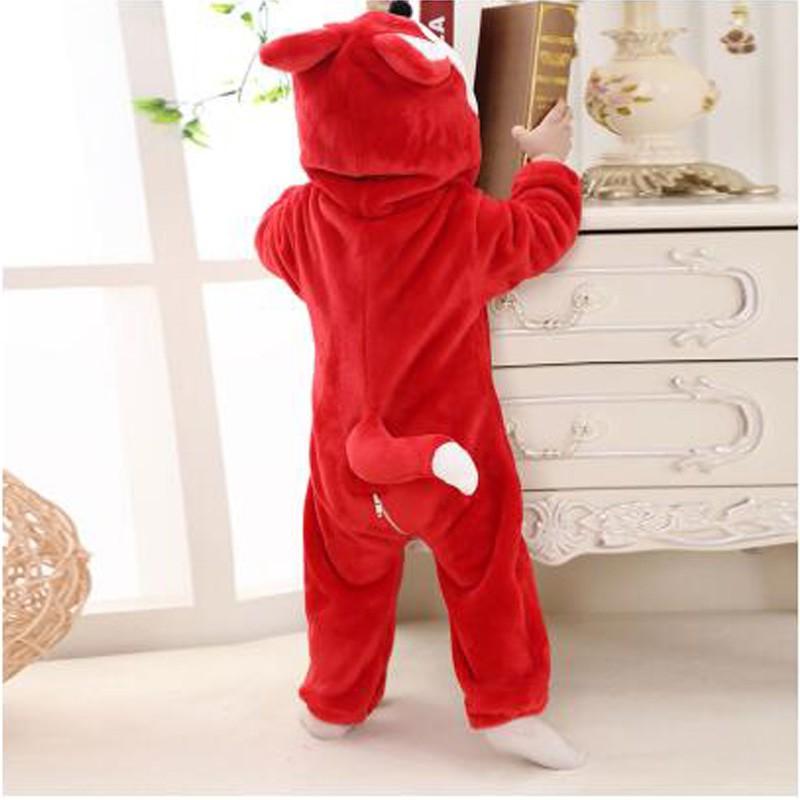 Bộ đồ ngủ pijama hóa trang hình chú cáo dành cho các bữa tiệc Halloween