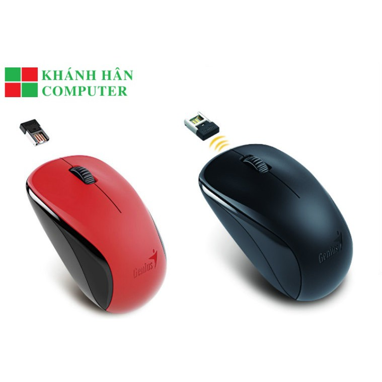 Chuột Không Dây Genius NX7000 (đen) - Bảo hành chính hãng 12 tháng